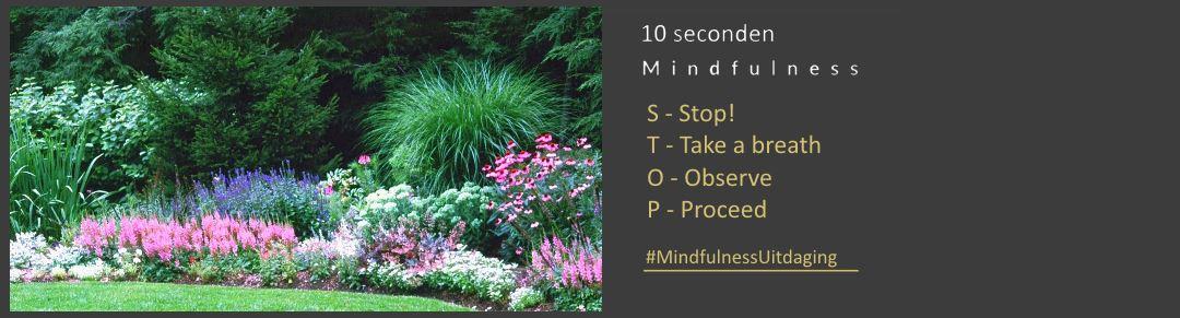 Mindfulness uitdaging nr 1